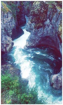 water blue river norway norwaynature