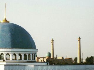 travel uzbekistan architecture cityscape oldbuilding