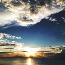 nature effect edited sun clouds