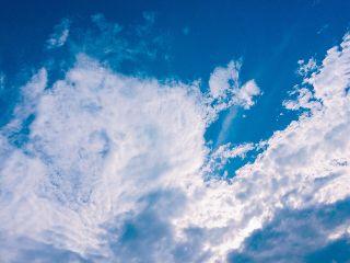 cloudy clouds sky bluesky photograph freetoedit