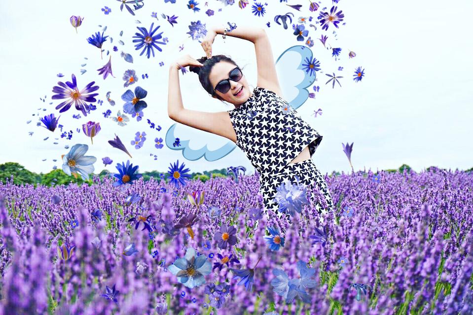 #FreeToEdit #remix #flowers #lavander