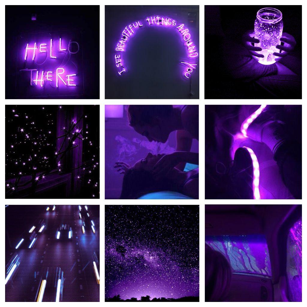 dark neon purple moodboard neon dark purple moodboard