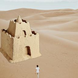 freetoedit arena sandcastle sand