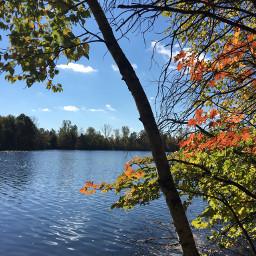 nature lake fall photography