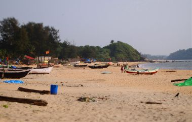 beach holiday patnem goa sunny