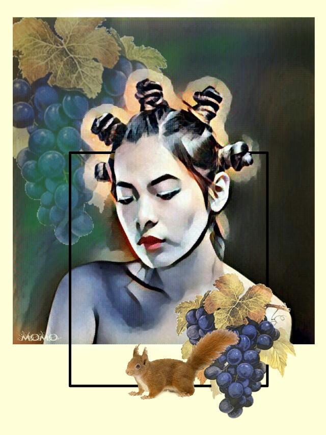 nice evening ... ♥   #myartwork2016   #remixed #portrait #myedit  #artistic #collage #edited  #popart
