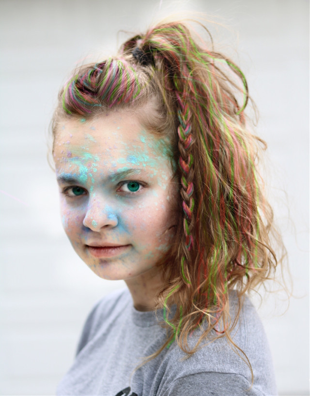 #FreeToEdit  #hair #haircolor #color #colorrun #pastel #bright #softlighting