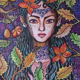 arte ninfa colored