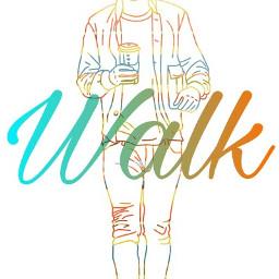 freetoedit walk colorful