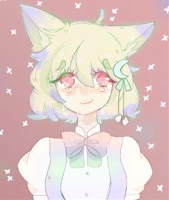 freetoedit chibi animegirl cutie