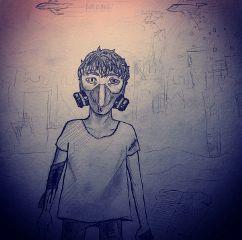 emotions pencilart war art pen