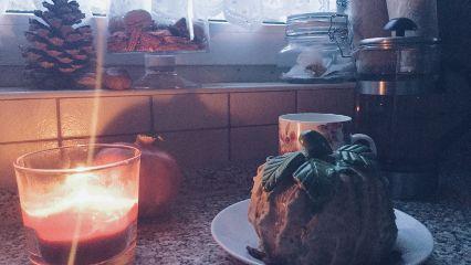 pumpkin cake fall autumn breakfast freetoedit