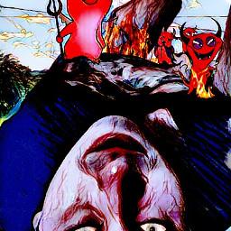 evil evildead fire infierno desde freetoedit