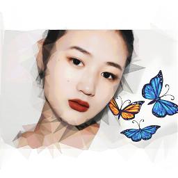 freetoedit remixed remixme beautiful butterflies