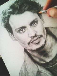 drawing art portrait actor hollywood