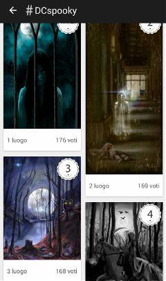drawing winners spooky digitaldrawing darkness