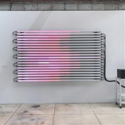 pink gray lights