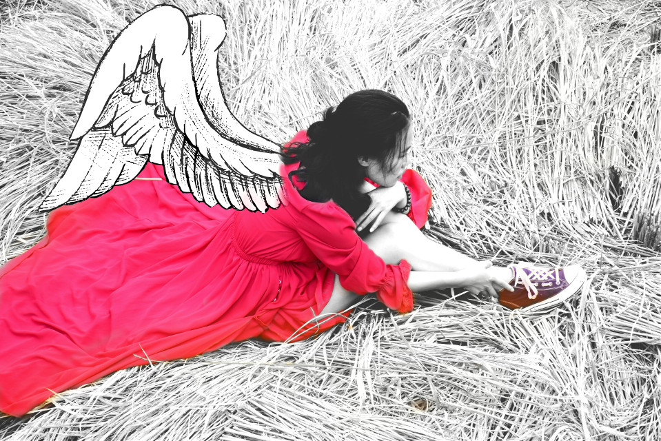 #FreeToEdit .... because basically in life is not just black and white ... sometimes there are red too