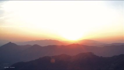 sun hills mountains mountainview nature