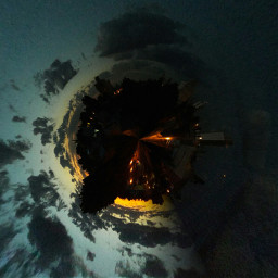 tinyplanet anochecerhermoso laplata buenosaires argentina