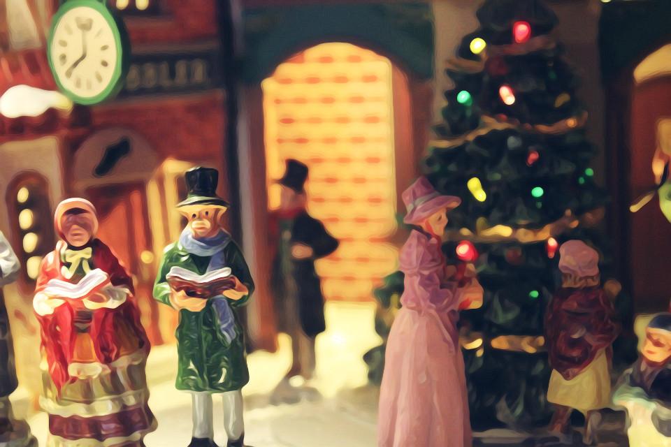#photography #oilpaintingeffect #christmas #holiday #FreeToEdit